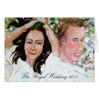 The Royal Wedding 2011 greeting Card