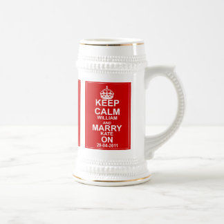 The Royal Wedding Beer Stein