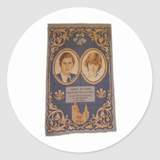 The Royal Wedding: Classic Round Sticker