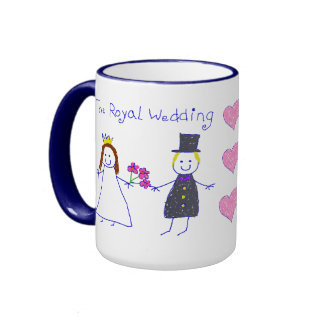 The Royal Wedding Ringer Coffee Mug