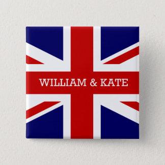 The Royal Wedding - William & Kate Pinback Button