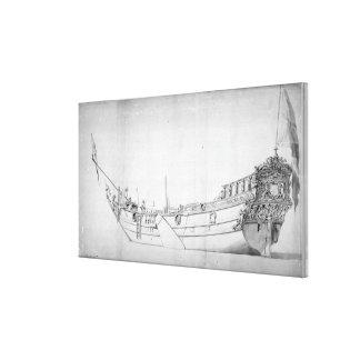 The Royal Yacht 'Mary' Canvas Print