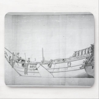 The Royal Yacht 'Mary' Mouse Pad