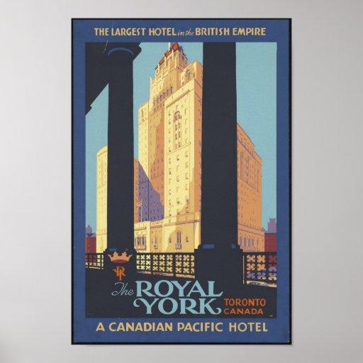 The Royal York Poster