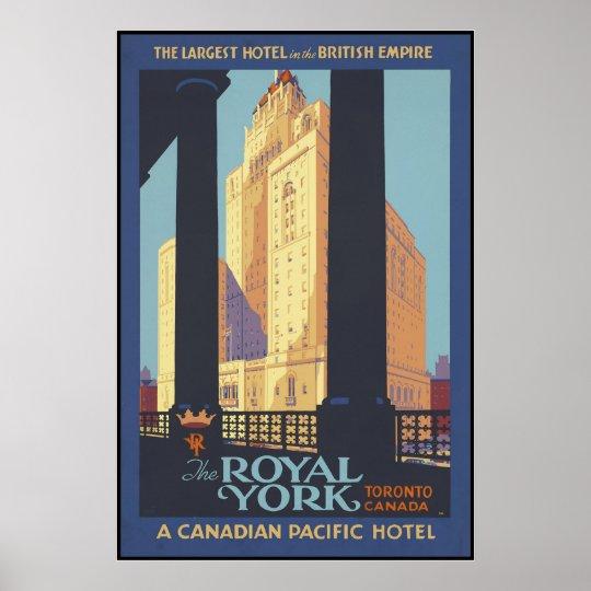 The Royal York Toronto Canada Poster