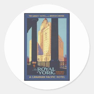 The Royal York Toronto Canada Sticker