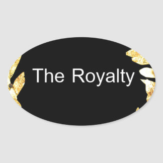 The Royalty.png Oval Sticker