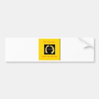 The Royalty-. Royal Queen Georgia Marie Bailey Bumper Sticker