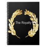 The Royalty Spiral Notebook
