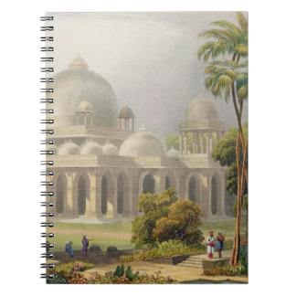 The Roza at Mehmoodabad in Guzerat, or the Tomb of Spiral Note Book