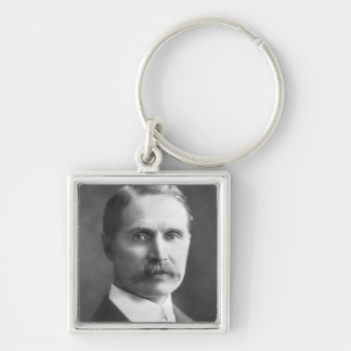 The Rt Hon Andrew Bonar Law M.P. Silver-Colored Square Keychain