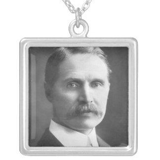 The Rt Hon Andrew Bonar Law M.P. Square Pendant Necklace