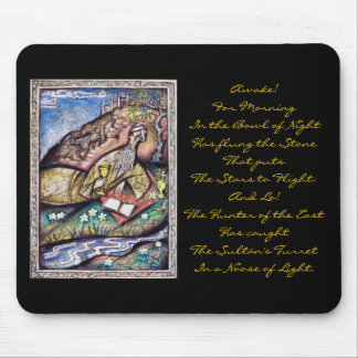 The Rubaiyat of Omar Khayyam Mouse Pad
