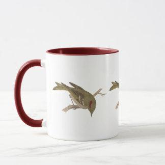 The Ruby-crowned Kinglet(Regulus calendula) Mug