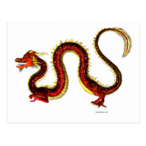 The Ruby Dragon Postcard