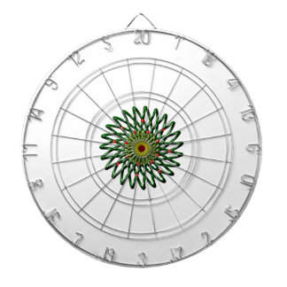The Ruby Flower Dartboard