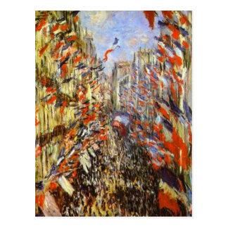 The Rue Montorgeuil, Paris, 30 June 1878 Postcard