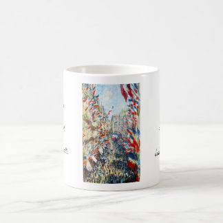 The Rue Montorgueil, Paris, Festival of June Coffee Mug