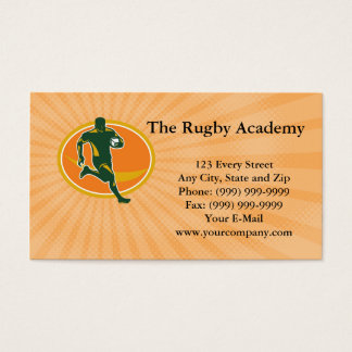 The Rugby Academy Business card