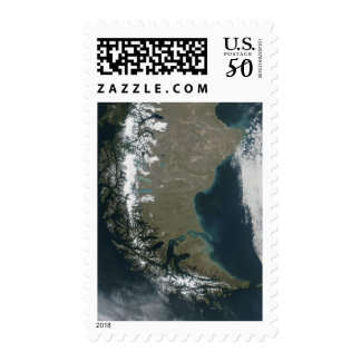 The rugged, snow-capped Andes Postage