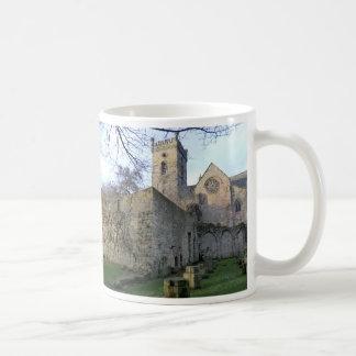 The Ruins of Culross Abbey in Fife Classic White Coffee Mug