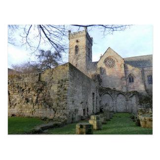 The Ruins of Culross Abbey in Fife Postcard