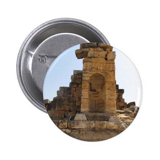 The ruins of Hierapolis Button