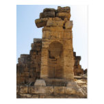 The ruins of Hierapolis Post Card