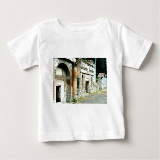 The Ruins of Pompeii - marketplace with temples T-shirt