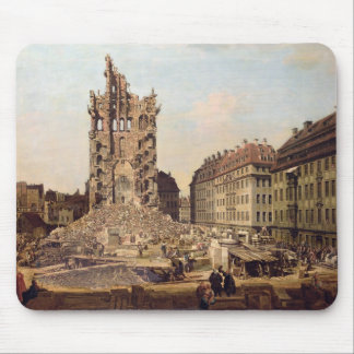 The Ruins of the old Kreuzkirche, Dresden Mouse Pad