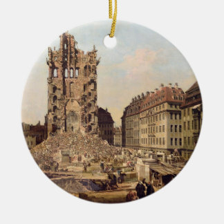 The Ruins of the old Kreuzkirche, Dresden Ornaments