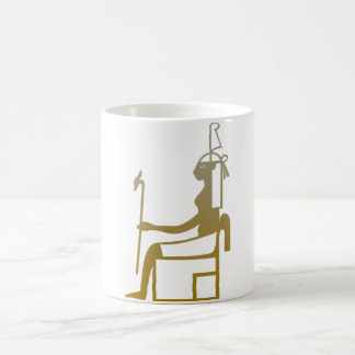 The ruler, Egyptian deity. Coffee Mug