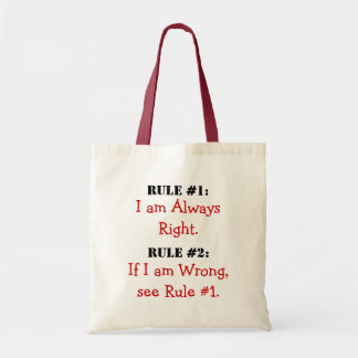 The Rules Bags