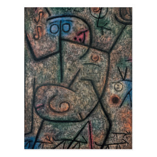 The rumors by Paul Klee Postcard