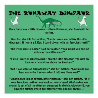 The Runaway Dinosaur Poster