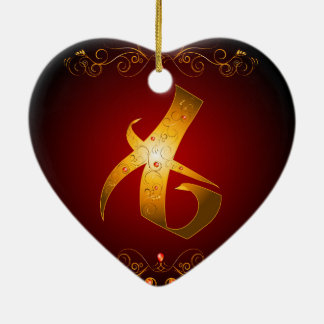 The Rune, Love Christmas Tree Ornament