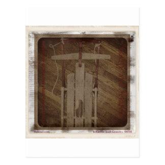 The Runner Sled Tetanus and Gravity Postcard