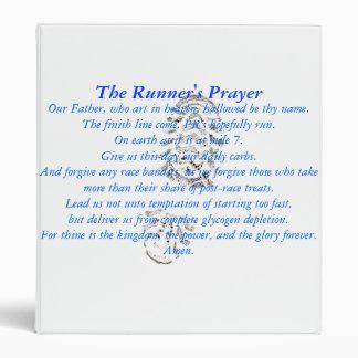 """The Runner's Prayer 1"""" Binder"""