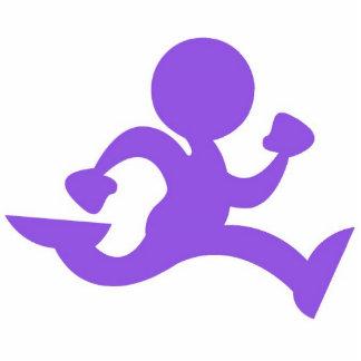 The Running Man Cutout