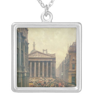 The Rush Hour by the Royal Exchange from Queen Silver Plated Necklace