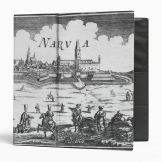 The Russian army besieging Narva in 1700 Binder