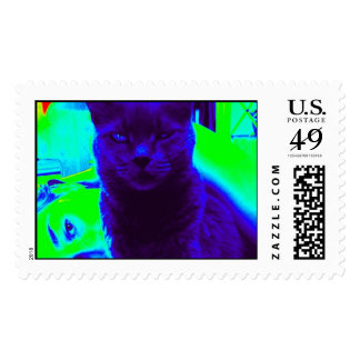 The Russian Blue Postage