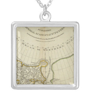 The Russian Discoveries Square Pendant Necklace