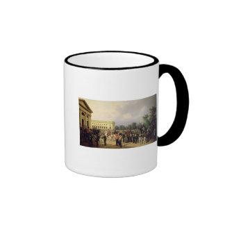 The Russian Guard in Tsarskoye Selo Ringer Mug