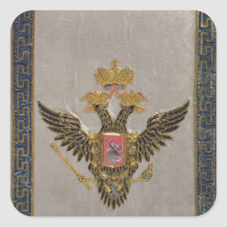 The Russian Imperial Family' Square Sticker