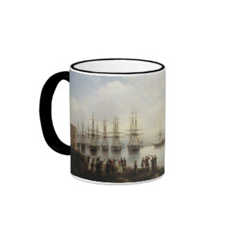 The Russian Squadron Ringer Coffee Mug