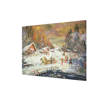 The Russian Winter, 1900-10 Canvas Print