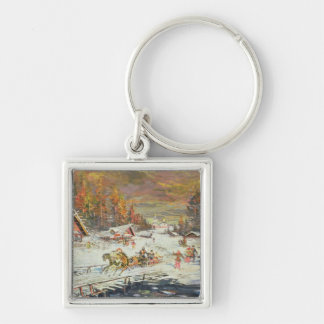 The Russian Winter, 1900-10 Keychain