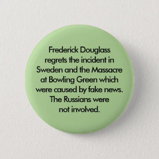 The Russians were not involved Pinback Button