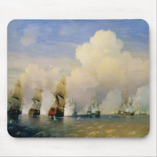 The Russo-Swedish Sea War near Kronstadt in 1790 Mouse Pad